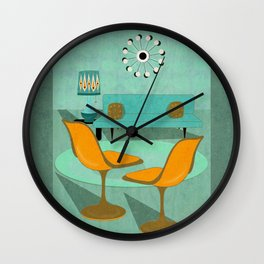 Room For Conversation Wall Clock