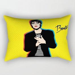 Pat Benatar - Pop Art Rectangular Pillow
