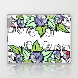 Abstract floral background Laptop & iPad Skin