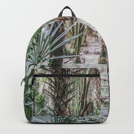 Palm Trees in the Green Swamp Backpack