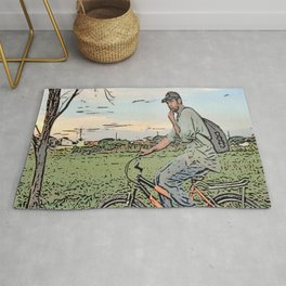 After day work Rug