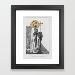 Our Most Reviled Father Framed Art Print
