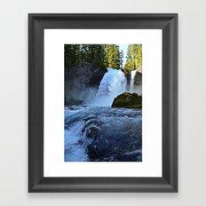 Sahalie Falls Framed Art Print