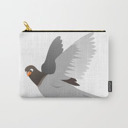Funny Cartoon Pigeon Carry-All Pouch