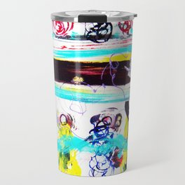 BACH:  Cello Concerto        by Kay Lipton Travel Mug