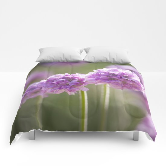 Allium in LOVE Comforters