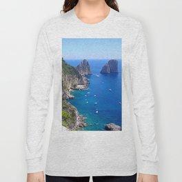Isle of Capri Coastline Long Sleeve T-shirt