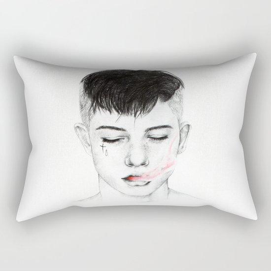 Testament. Rectangular Pillow