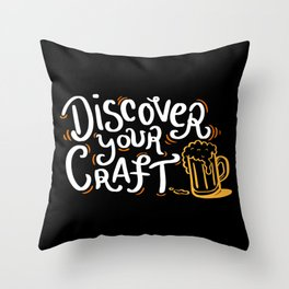 Discover Your Craft - Gift Throw Pillow