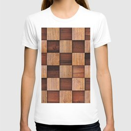 Wooden squares T-shirt