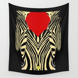 Zebra pop art, zèbre, pop art Wall Tapestry