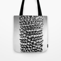 Bananas black and white Tote Bag