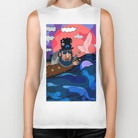 house md Biker Tanks featuring Ahab, MD by Birdcap