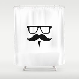 Hipster Design Shower Curtain