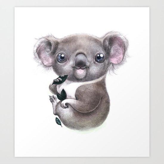 Koalalala Art Print