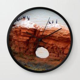 Cormorant Island Wall Clock