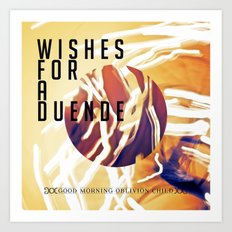 Wishes for a Duende Art Print