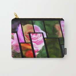 Pink Roses in Anzures 1 Tinted 1 Carry-All Pouch