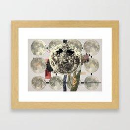 Mi luna Framed Art Print