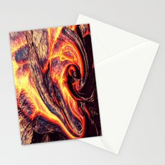 Lava I - for iphone Stationery Cards