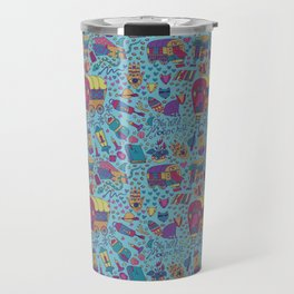 Caravan Pattern Travel Mug