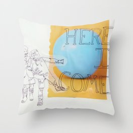 ready or not ! Throw Pillow