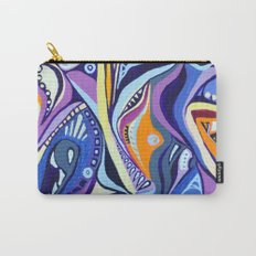 Realms of blues and orange Carry-All Pouch