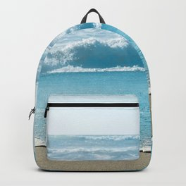 Blue Sea Backdrop Backpack