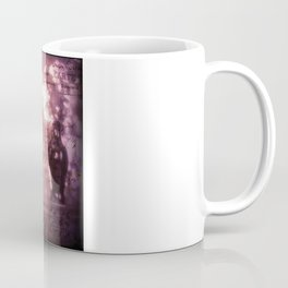 He Left Words And Flowers by the Bed -romantic victorian art prit Coffee Mug