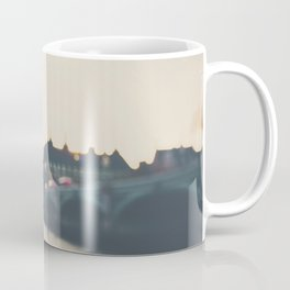 sunset over the city ... Coffee Mug