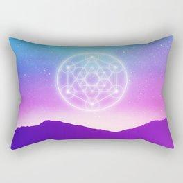 Sacred Geometry (Metatron) Rectangular Pillow