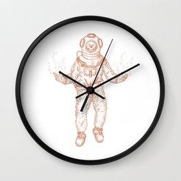 Diver (Nautical Collection) - Bronze Wall Clock