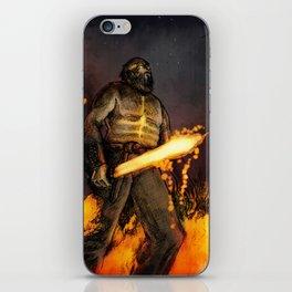 Fire Giant iPhone Skin