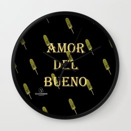 Amor del Bueno...Me inspira el Elotero Wall Clock