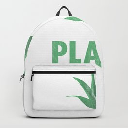 Sorry I Have Plants This Weekend Distressed Backpack