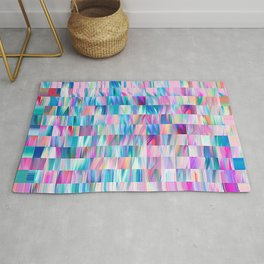Colourful Squares Rug