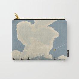 Mountain Landscape cartoon vista. Carry-All Pouch