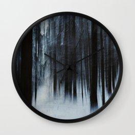 Winterfall Wall Clock