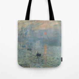 Claude Monet's Impression, Soleil Levant Tote Bag