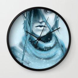 Glacial Wall Clock