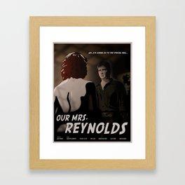 Our Mrs. Reynolds Framed Art Print