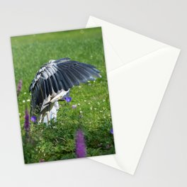 Welcome Heron Stationery Cards