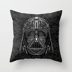 Aztec Black vader Mask iPhone 4 4s 5 5c 6, pillow case, mugs and tshirt Throw Pillow
