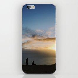 Sunset Talks iPhone Skin