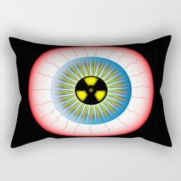 Radioactive Eye Rectangular Pillow