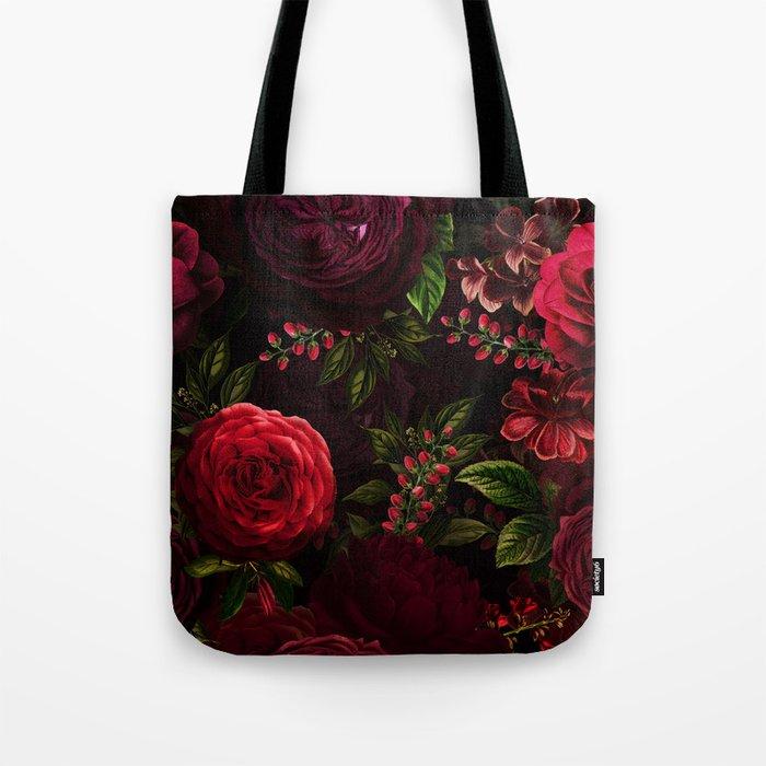 Vintage & Shabby Chic - Vintage & Shabby Chic - Mystical Night Roses Umhängetasche