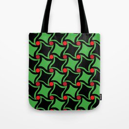 Twisted squares Tote Bag