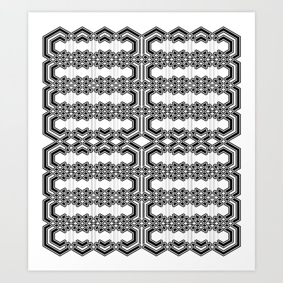 Parallel Dimension Art Print