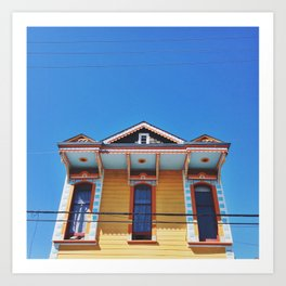 Bywater In The Sky Art Print