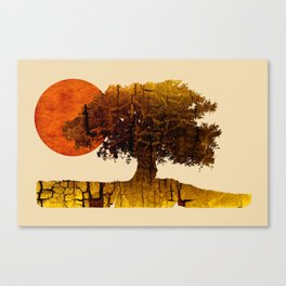 roots & sun Canvas Print
